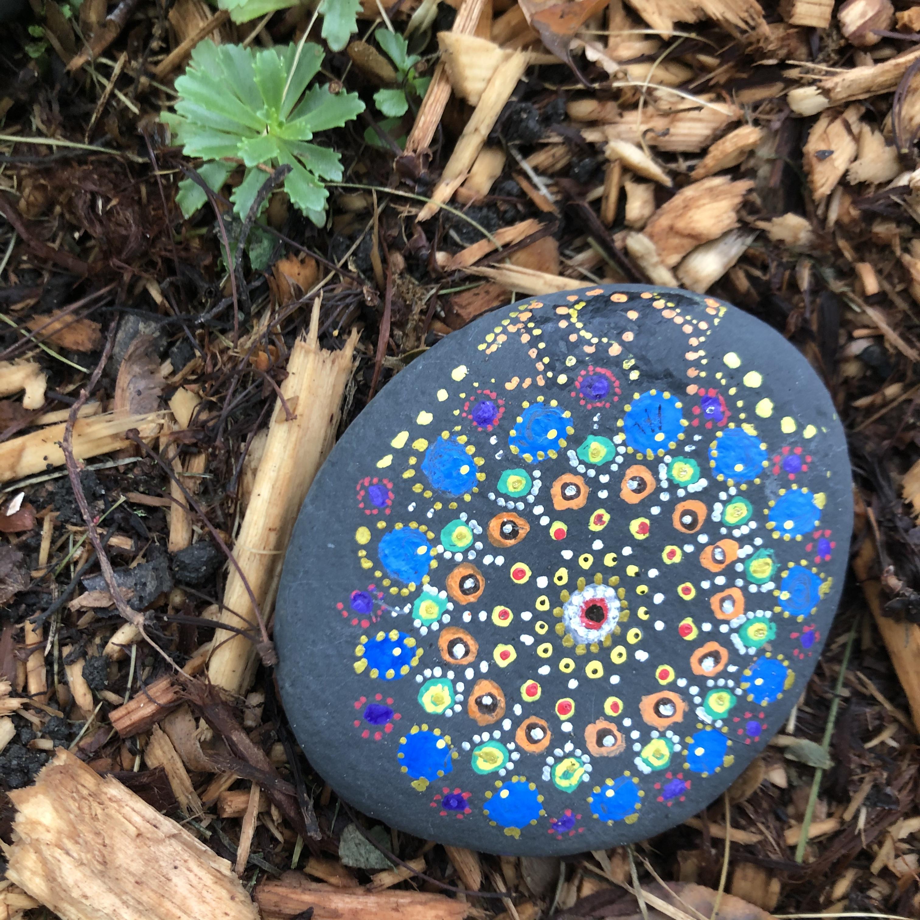 Mandala rock